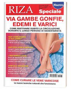 RIZA Speciale: Via gambe gonfie, edemi e varici