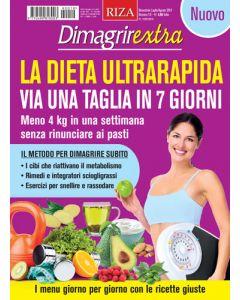 DimagrirExtra: La dieta ultrarapida, via una taglia in 7 giorni