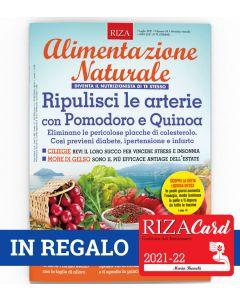 12 numeri di Alimentazione Naturale