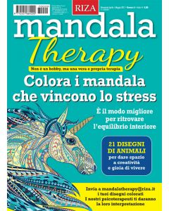 Mandala Therapy - Animali fantastici n. 9