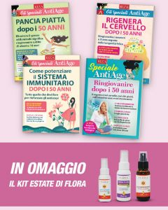 "4 guide ""Speciale AntiAge"" + KIT ESTATE di FLORA"