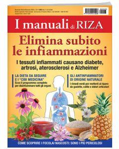 I manuali di RIZA: elimina subito le infiammazioni