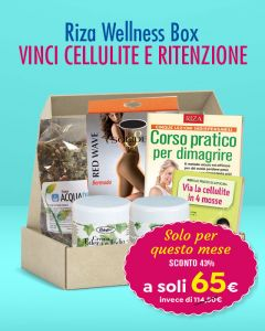 Riza Wellness Box - Vinci cellulite e ritenzione