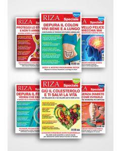 6 RIZA SPECIALE per il tuo benessere