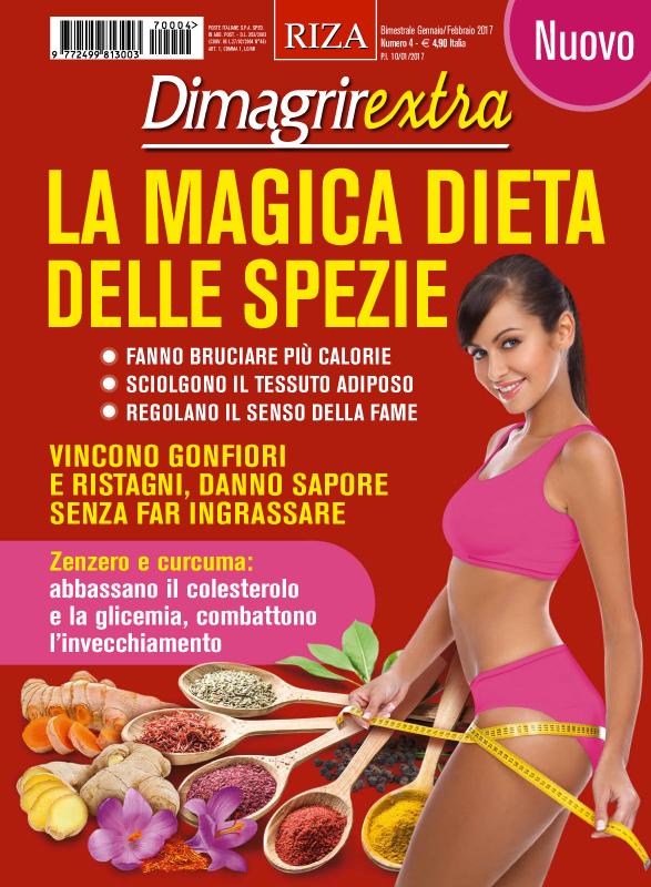 DimagrirExtra: La magica dieta delle spezie